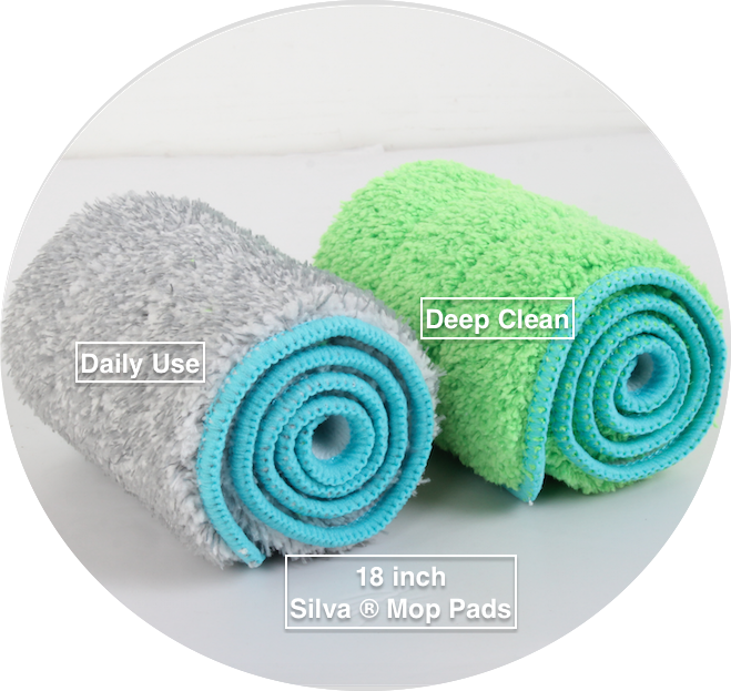 Microfiber Mop Pads for Wet and Dry Cleaning